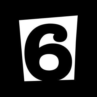 flat 6 logo