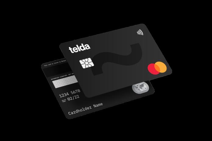Telda card logo