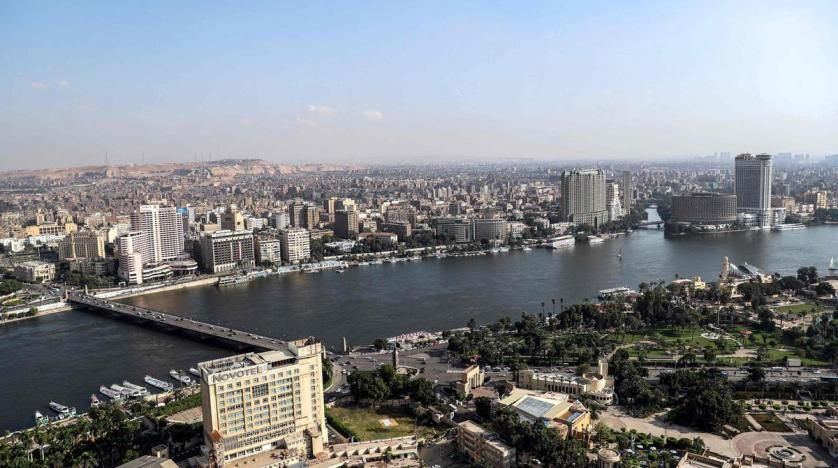 View of Cairo Egypt
