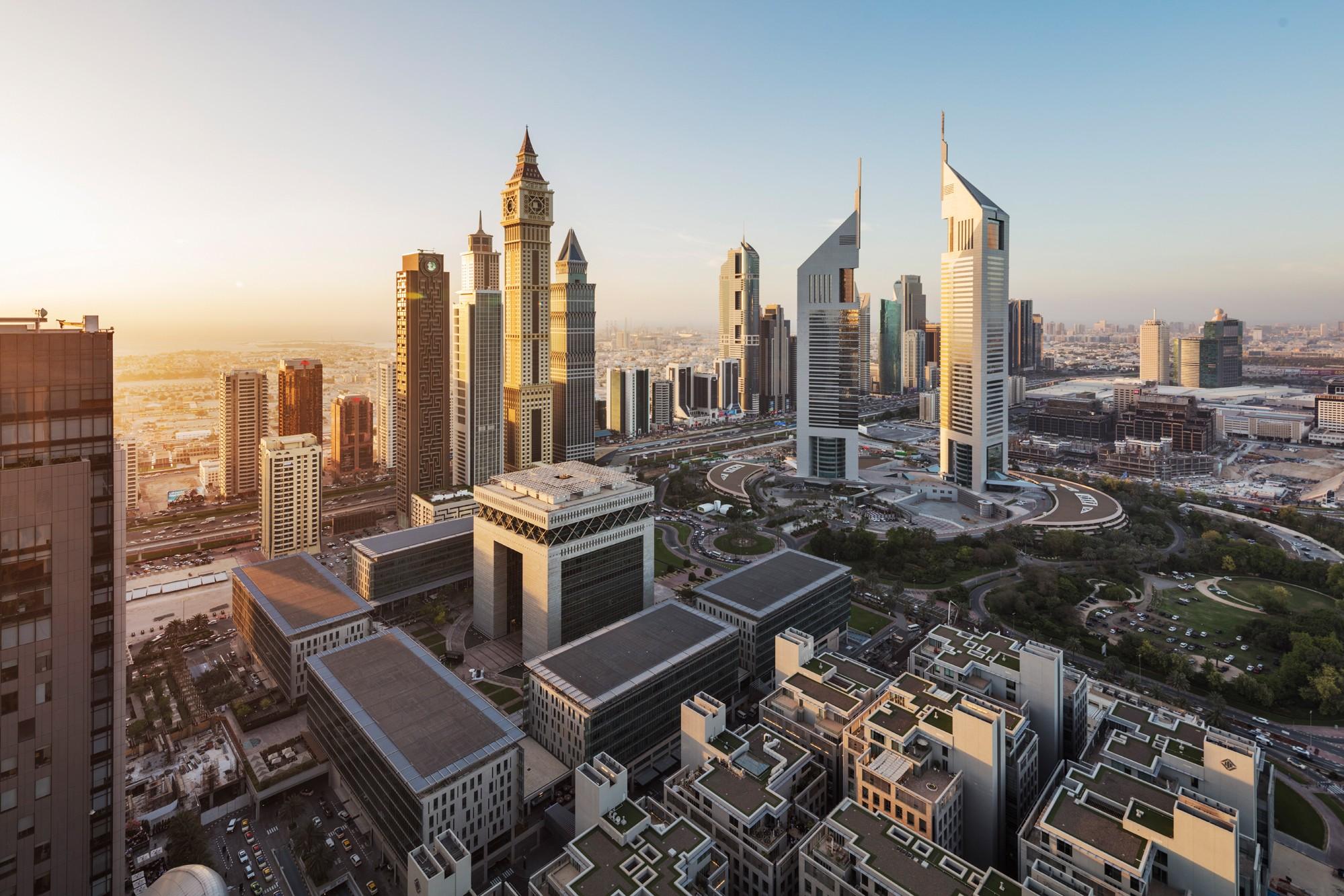 DUBAI International Finance Centre logo